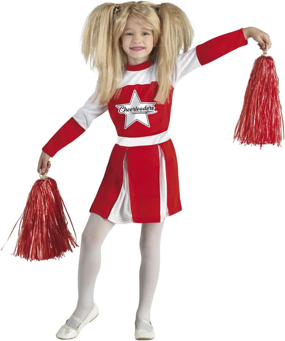 chiber Disfraces Disfraz Niña Animadora Americana Cheerleader ...