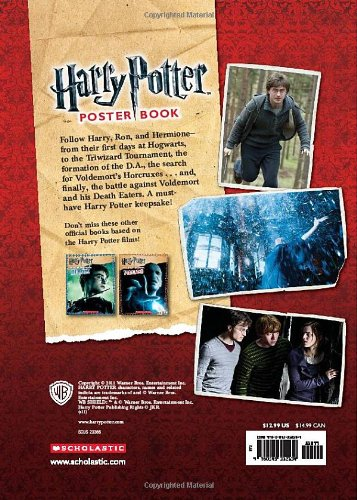 The World of Harry Potter: Harry Potter Poster Book: Amazon ...