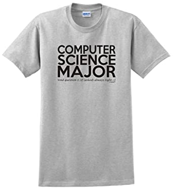 Amazon Com Computer Science Major Void Question Always Right T
