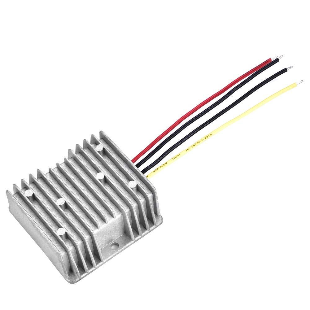 Convertidor reductor a prueba de agua Buck 24V-DC 19V 5A Regulador de voltaje Reductor de la fuente de alimentación Adaptador del inversor Módulo