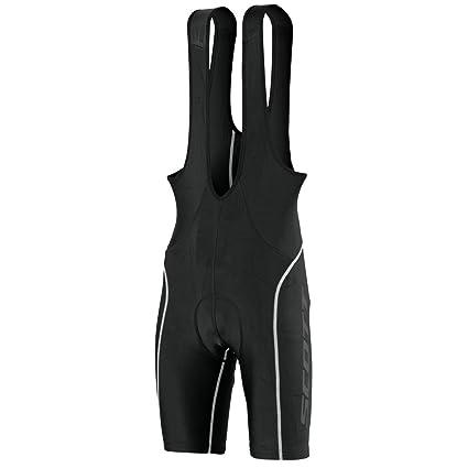 Scott Sports Mens Endurance + Cycling Bib Shorts - 241736 (Black White - XL 4941fa266