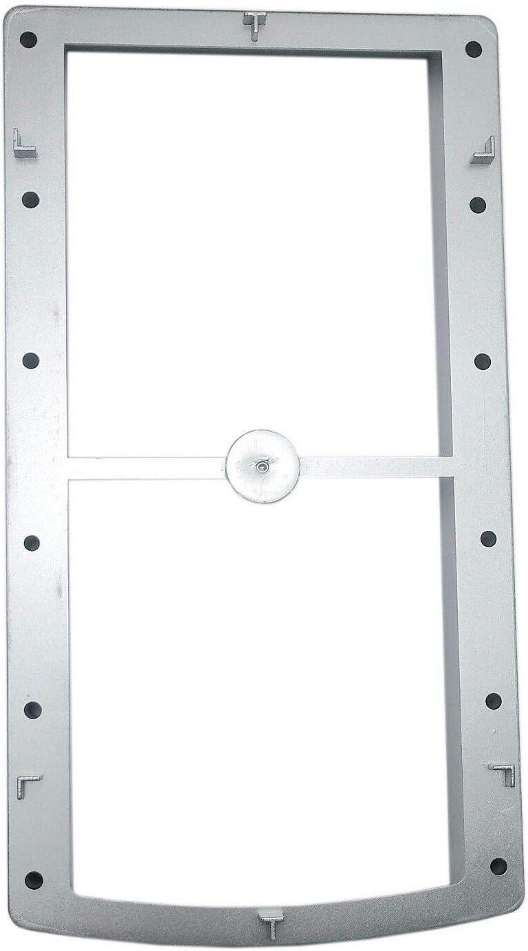 Grosor Lateral para fijación Perchero Saliscendi para Armario con Puerta corredera: Amazon.es: Hogar