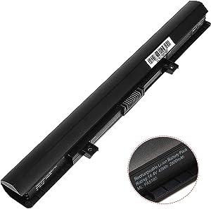 PA5185U-1BRS C55 C50 PA5184U-1BR New Laptop Battery Compatible with Toshiba Satellite C55D C55T L55 L55D L55T C55-B C55-B5200 C55-B5270 C55-B5300 C55D-B5310 Series PA5186U-1BRS PA5195U-1BRS