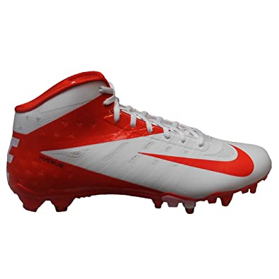 a61ab5d32aa7 Amazon.com   Nike Vapor Talon Elite 3/4 Mens Football Shoes White ...