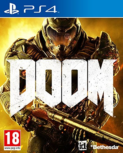 Doom - PlayStation 4 (Imported Version) (Best Non Shooter Ps3 Games)