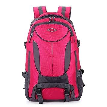 ... Bolsa de Excursionismo al Aire Libre Impermeable para Escalada Viajes Viajes Senderismo Senderismo Mochila de Estudiante Mochilas,Pink: Amazon.es: Hogar