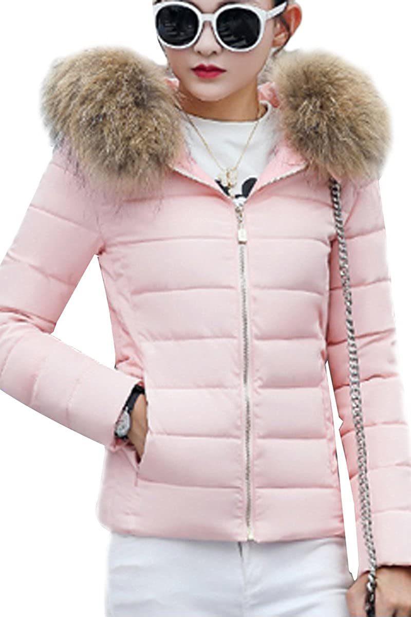 Quilted Parka Jacket Womens