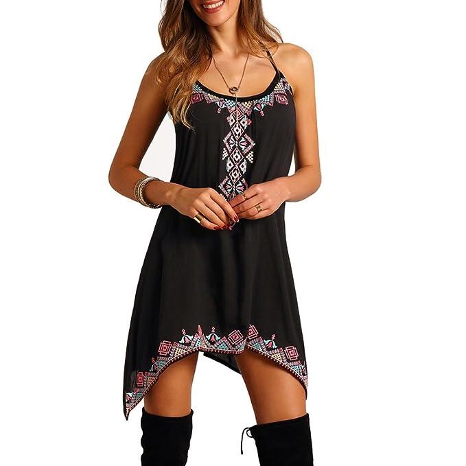 4b1aef42508 Italily Donna Boho Sexy Vestito