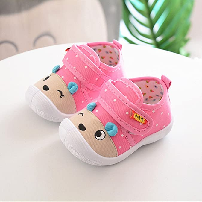 1697e1675 Zolimx 💕 Bebés Niños Niñas Zapatos Antideslizantes de Dibujos Animados  Suela Blandita Sneakers para Zapatos Bebe Verano  Amazon.es  Zapatos y  complementos