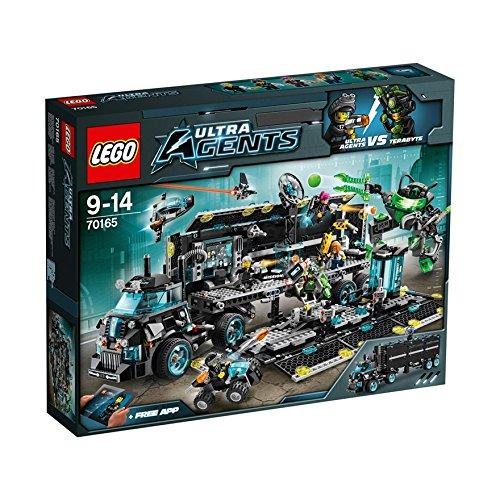 74 opinioni per LEGO Agents 70165- Quartier Generale Ultra Agents