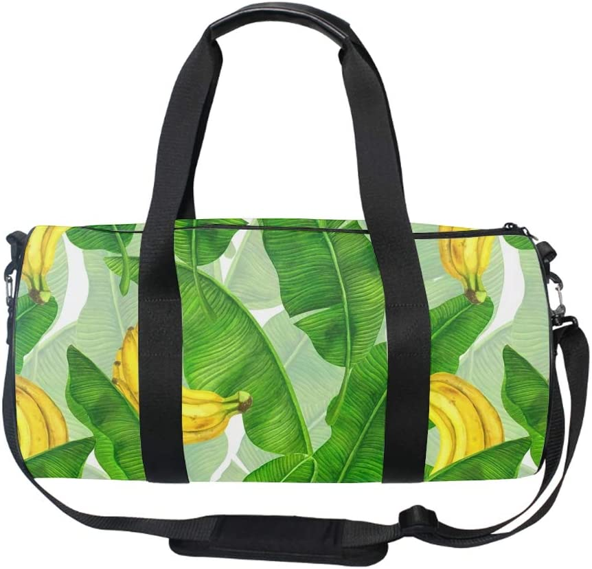 Abstract Flowers Round Gym Duffle Bag Drum tote Fitness Travel Bag Rooftop Rack Bag