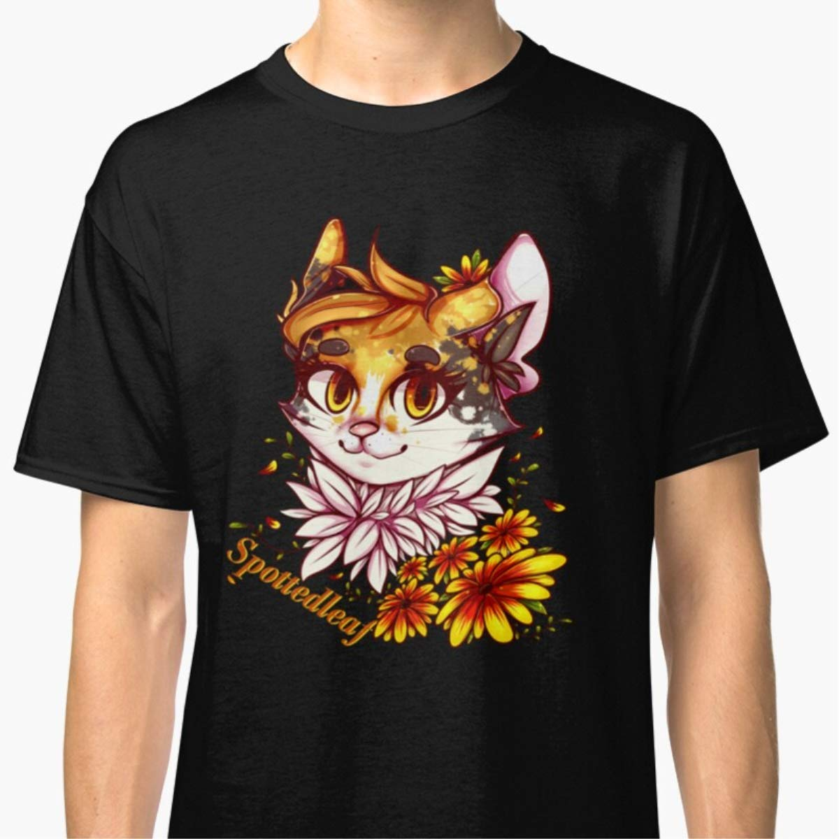 Unisex T-Shirt Spottedleaf Warrior Cats Shirts For Men Women Neck Perfect Gift