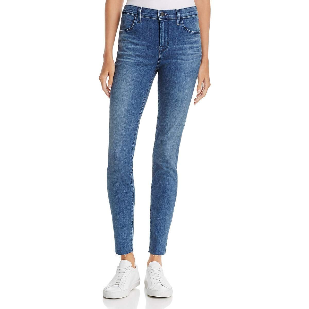 J Brand Womens Maria High Rise Ankle Skinny Jeans Blue 26
