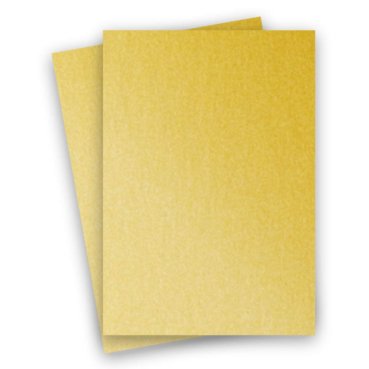 Metallic Gold 8-1/2-x-14 Cardstock Paper 150-pk - PaperPapers 284 GSM (105lb Cover) LEGAL size Metallic Card Stock Paper - Business, Card Making, Designers, Professional and DIY Projects
