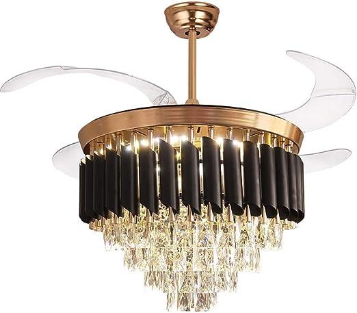 Araña de cristal para ventilador de techo, interior de lujo ...