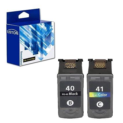 Eston Combo Set cartucho de tinta compatible para Canon PG40 CL41 ...