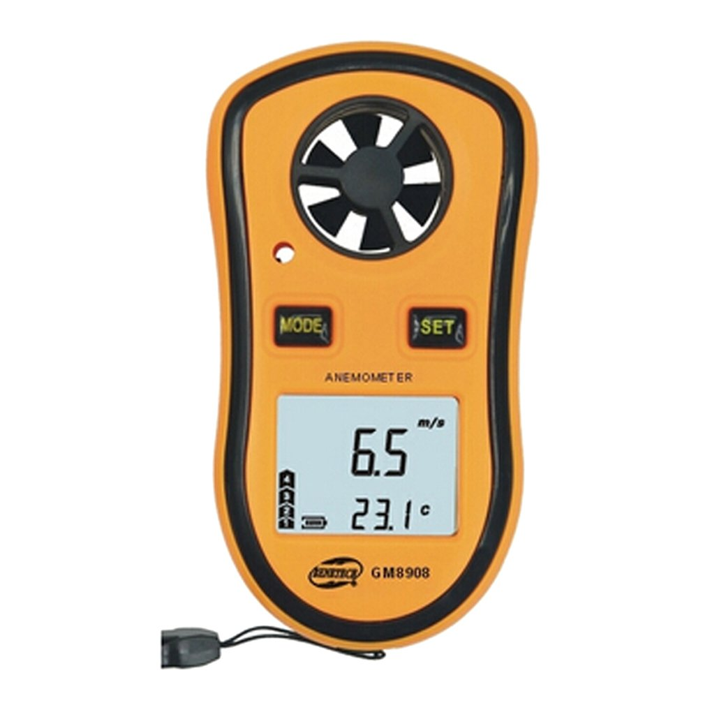BENETECH LCD Digital Wind Speed Scale Gauge Meter Anemometer
