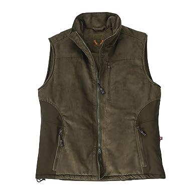 f039c108dbb93 Hubertus Primaloft Functional Hunting Vest Olive Oversize: Amazon.co.uk:  Clothing