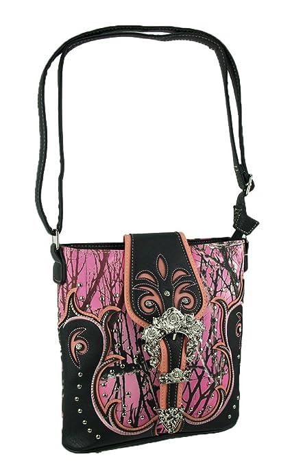 Amazon.com: Vinilo para mujer Cruz Cuerpo bolsas camuflaje ...