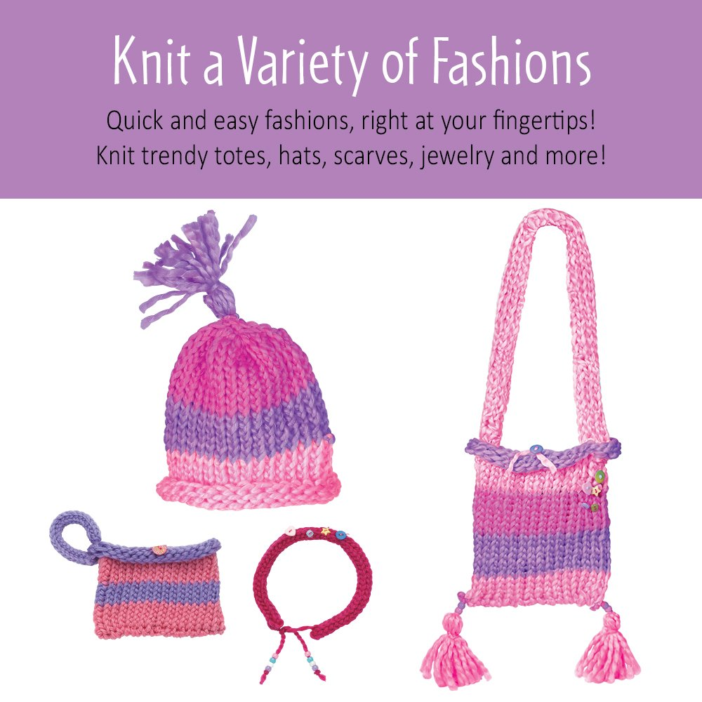 Amazon Creativity For Kids Quick Knit Loom Teaches Beneficial