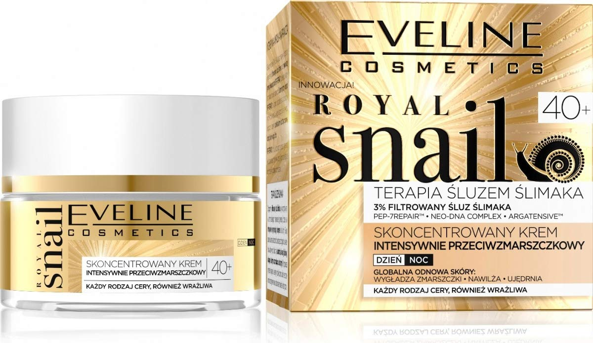 Royal Snail Concentrated Anti Wrinkle Day and Night Cream Ages 40 and Up