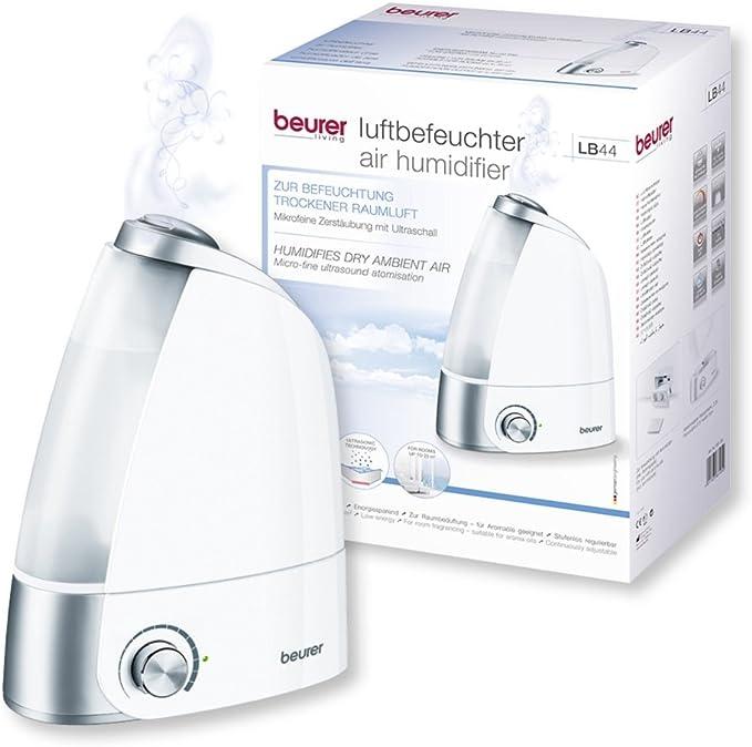 Beurer LB44 - Humidificador de aire ultrasónico higiénico e ...