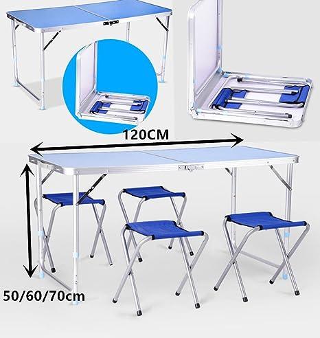 Mesa de Fiesta genérica para pícnic, Barbacoa y sillas ...