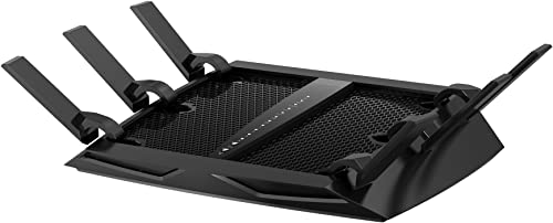 Netgear Renewed R8000-100NAR Nighthawk X6 AC3200 Tri-Band Gigabit Wi-Fi Router