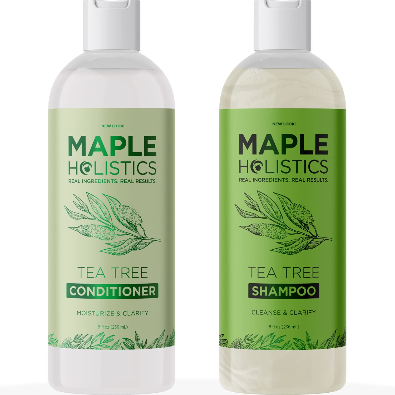 Maple Holistics Tea tree conditioner and shampoo