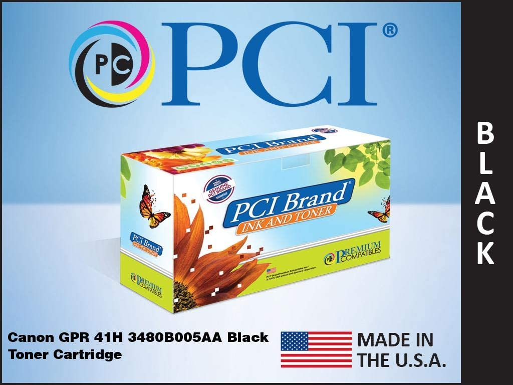 TNC Genuine GPR-41 Black Toner Cartridge for USE in IMAGERUNNER LBP347