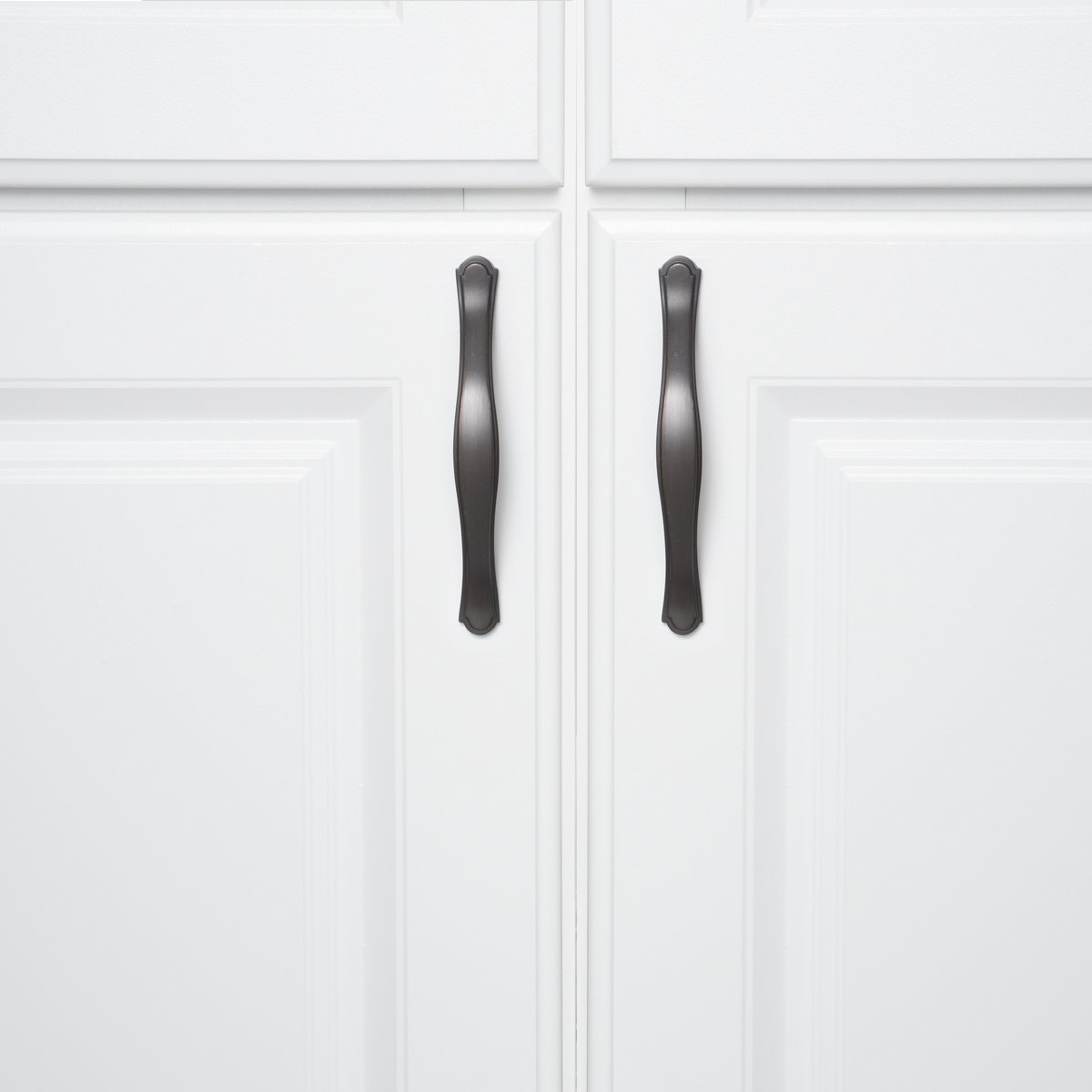 Lochmitte zu Lochmitte: 7,62 cm klassisch L/änge: 13 cm M/öbelgriff Antik-Silber Basics 10er-Pack k/ünstlerisches Design