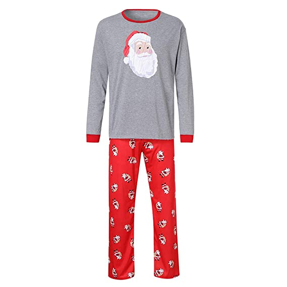 Ropa Conjunto de Pijamas Familiares de Navidad para Familia ...
