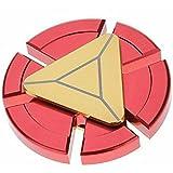 Venoo Ironman Fidget Spinner, Red