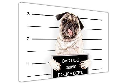 Pug Dog Cute Giant Poster Art Print A0 A1 A2 A3 A4 Sizes