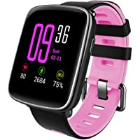 Willful Montre Connectée Smartwatch Bracelet Connecté Podomètre Etanche IP68 Femme Homme Enfant Sport Fitness Tracker d'Activité Cardio Smart Watch pour iPhone Samsung Huawei Android iOS Smartphone