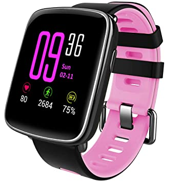 Willful Montre Connectée Smartwatch Femmes Homme Enfant Bracelet Connecté Cardio Etanche IP68 Smart Watch Podometre Sport