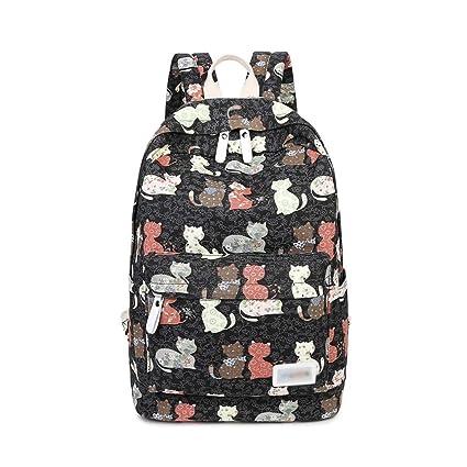 d7adf22d0373 Amazon.com: FULONG School Backpacks for Girls, Cute Lightweight ...