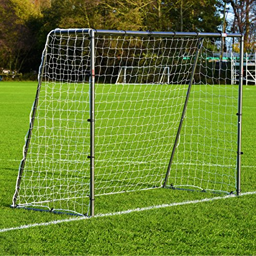 Attachments Net Soccer (8 x 6 FORZA Steel42 Soccer Goal – [The Strongest Steel Goal Post & Net Package with Soccer Goal Target Training Sheet] (with Target Sheet + Ball))