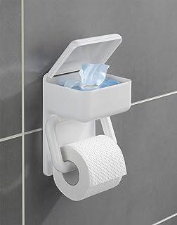 duo papierhalter toilettenpapier badezimmer feuchttcher hygiene wandhalterung toilettenpapierhalter wc badaccessoires rollenhalter klopapier - Freistehender Toilettenpapierhalter Mit Lagerung