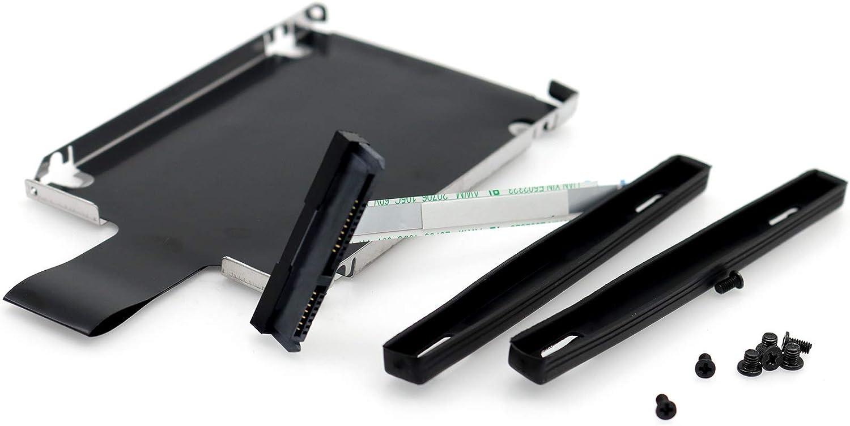 Deal4GO 10-pin SATA Hard Drive Cable w/HDD Caddy Bracket for HP Pavilion x360 15-BC 15-BC000 15-BC100 15-BC200 15T-BC000 Omen 15-AX 17-W DD0G35HD011