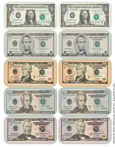 (Eureka Teacher Supplies Classroom Decoration Dollar Stickers,)