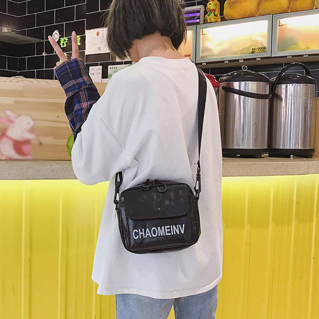 Fashion Lady Street Solid Color Wild Broadband Shoulder Bag Messenger Bag