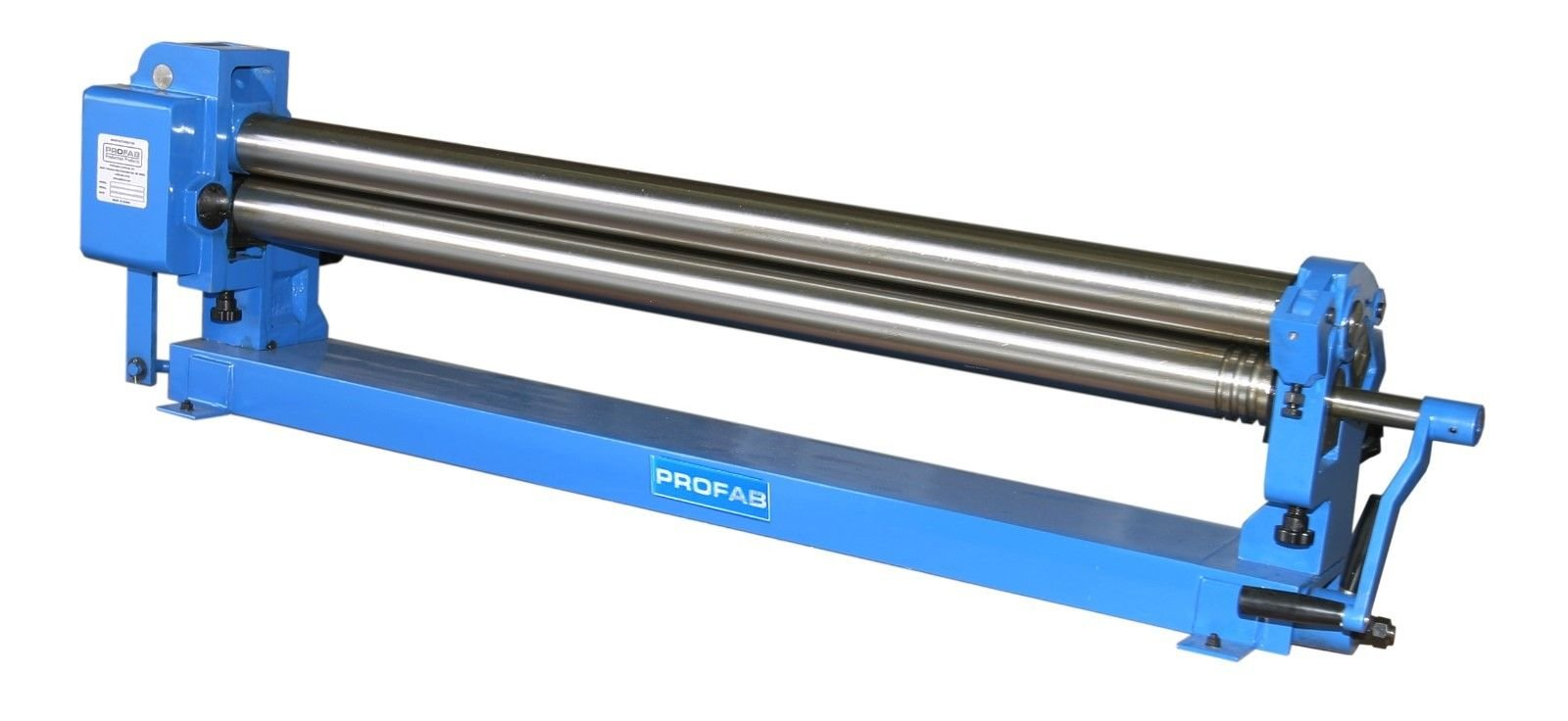 PROFAB Manual Slip Roller - Bench Mount - 48'' Long, 16 GA, 3'' Roll Diameter