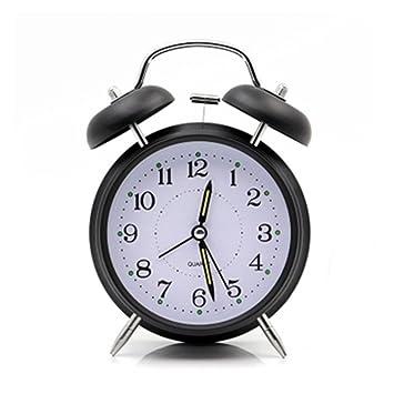 4 reloj despertador de doble campana reloj despertador de ...