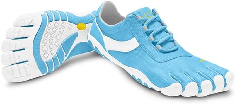 Vibram Fivefingers Speed XC Lite Women - Zapatillas de Cinco Dedos para Mujer, Color Azul - Azul y Blanco, tamaño 41: Amazon.es: Deportes y aire libre