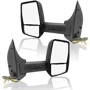 02-08 Econoline E-Series Van Power Telescopic Dual Arm Mirror Left Driver Side L