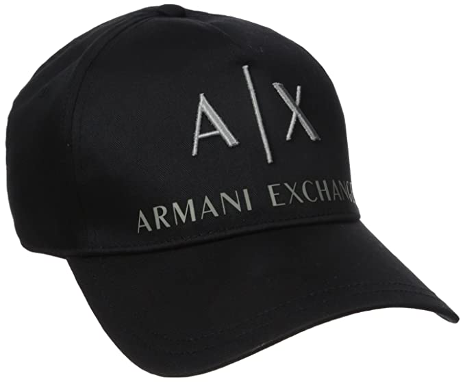 4b97abefa19b3 Armani Exchange Men s Corporate Logo Hat