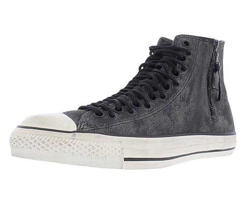 02110db8b448 John Varvatos X Converse Chuck Taylor Multi Eyelet Lace Zip High Gun Sneaker  (11.0 US   45.0 EUR