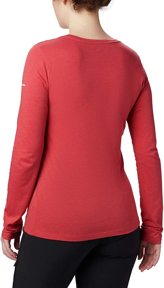 Active Fit Columbia Womens Ruby Falls Long Sleeve Tee
