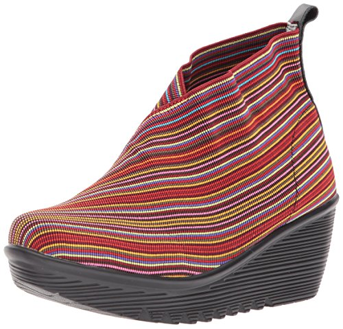 Bernie Mev Womens Maile Fashion Boot Rosso Mix